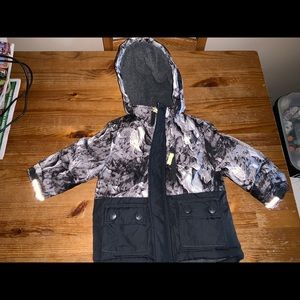 Oshkosh baby boys coat 12m camouflage warm